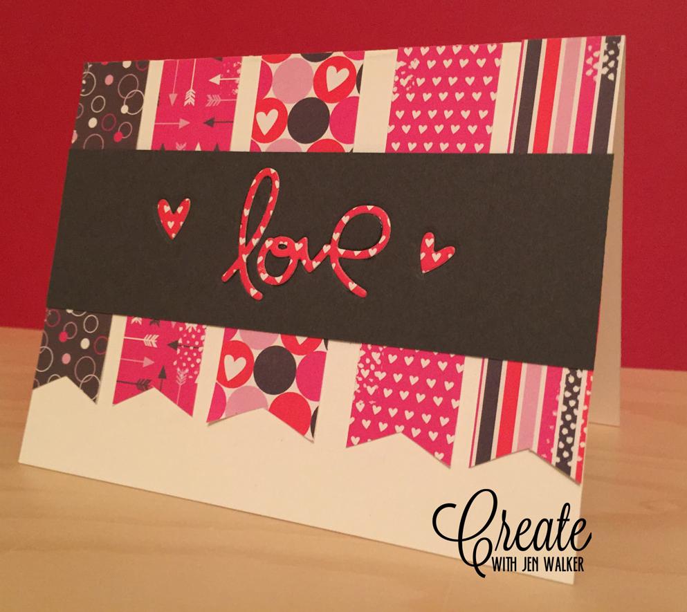 Jen Walker - Love card