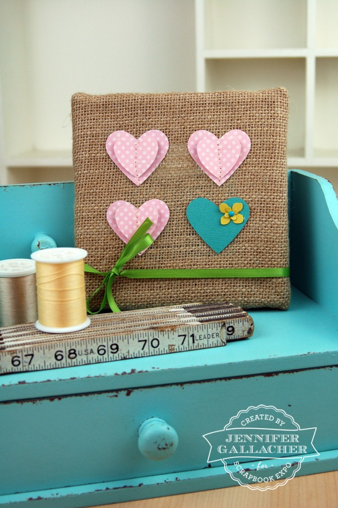 Stitched-Paper-Heart-Burlap-Frame-by-Jen-Gallacher