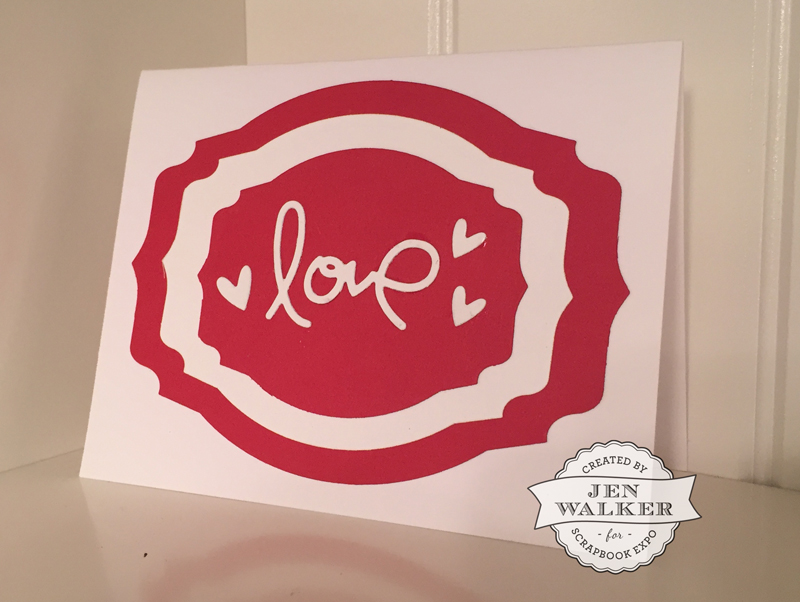 Love by Jen Walker for Weekly Scrapper