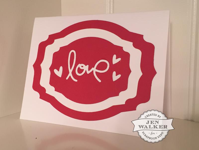 Love by Jen Walker for Weekly Scrapper