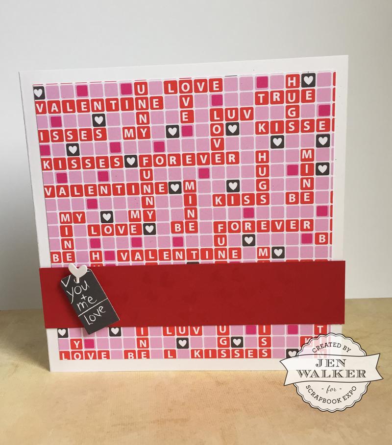 Valentine's Day card by Jen Walker