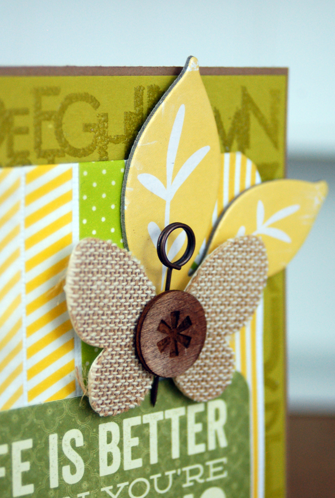 Life is Better Card Close Up Photo by Jen Gallacher