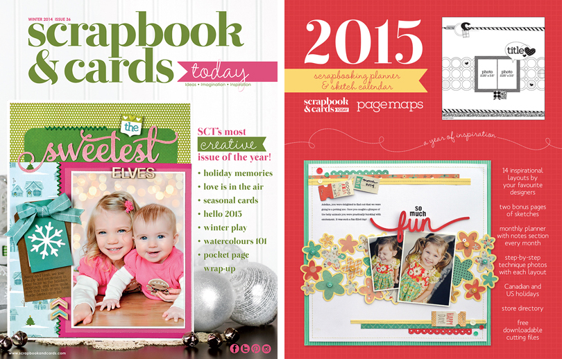 Scrapbook & Cards Today Subscription & Planner