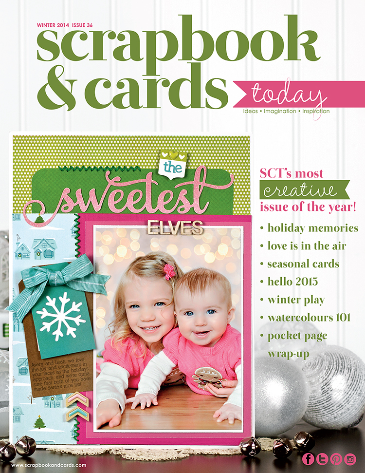 Scrapbook & Cards Today Magazine Winter 2014 issue