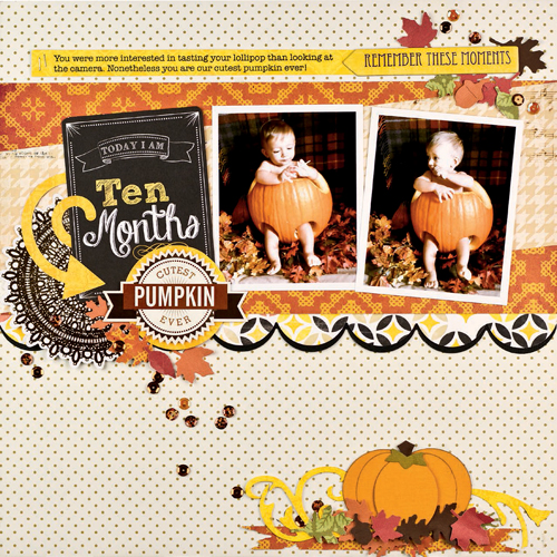 Cutest Pumpkin Ever by Virginia Nebel
