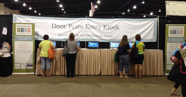 Door Prize Kiosk