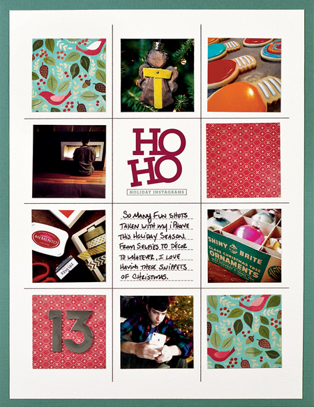 Ho Ho Holiday Instagrams by Cathy Zielske