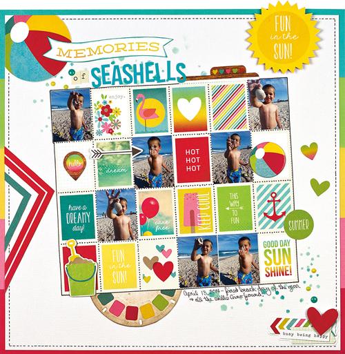 Memories of Seashells by Wendy Antenucci