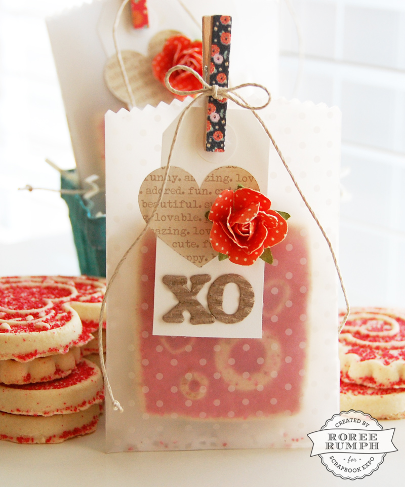 roree rumph_valentine_vellum_cookie_treat bags_bag closeup 3
