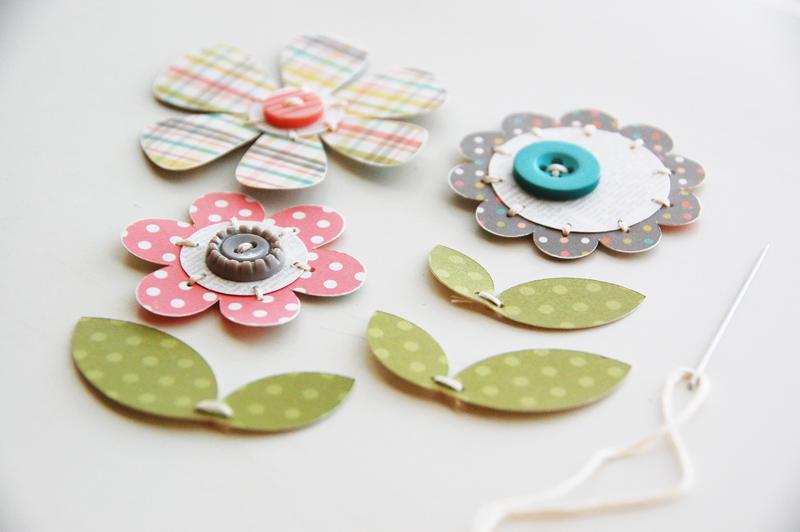 roree rumph_wooden spool_flowers_step5