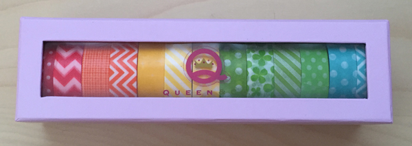 Queen & Co. Trendy Tape Storage Box
