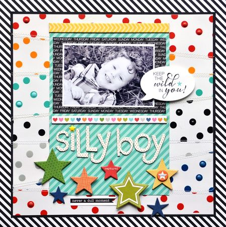 Silly Boy Layout