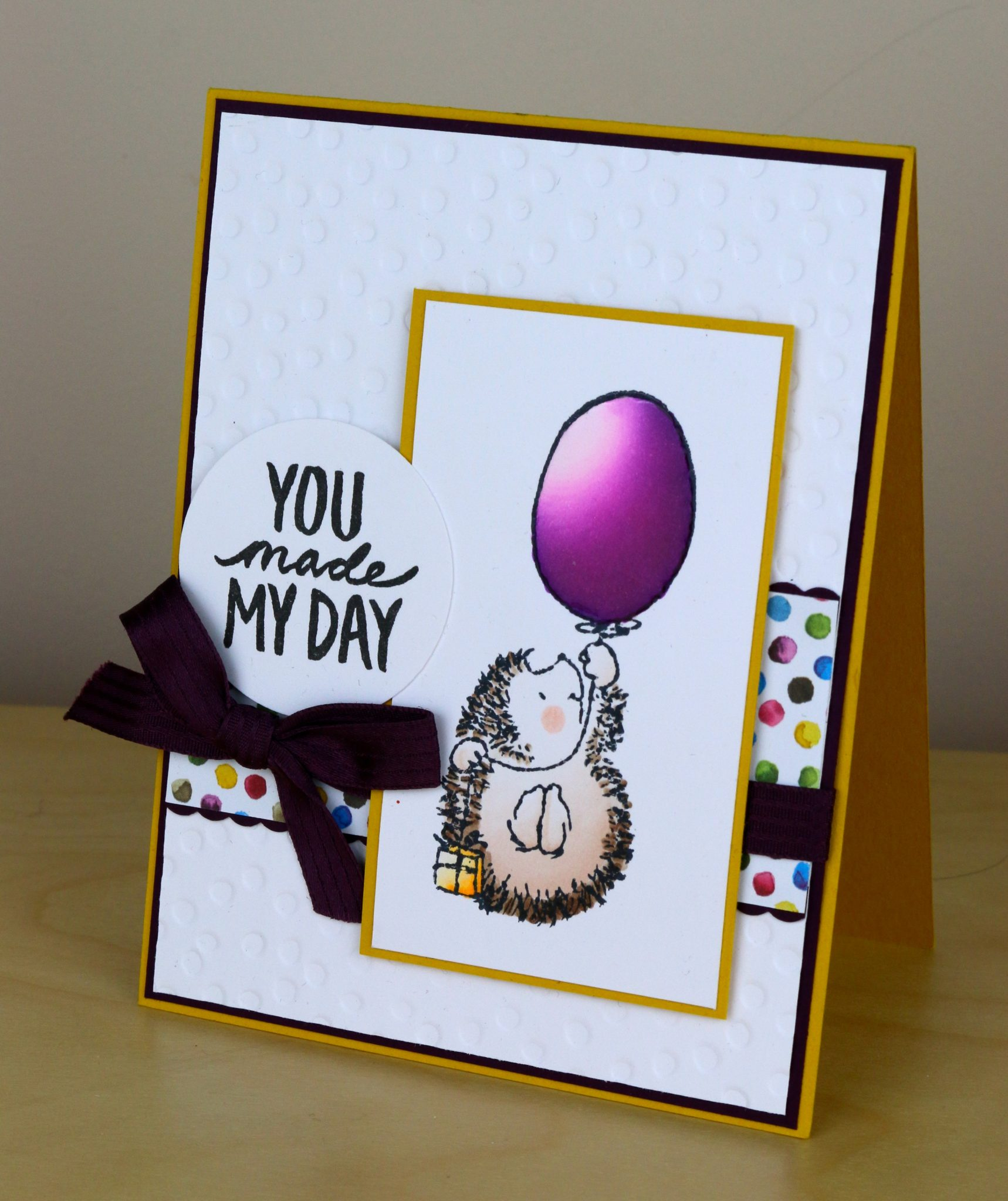 You Made My Day card by Ilona Crouse