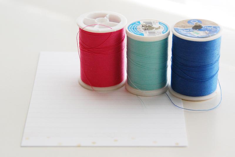 roree rumph_decorative stitches_i love you_card_step1