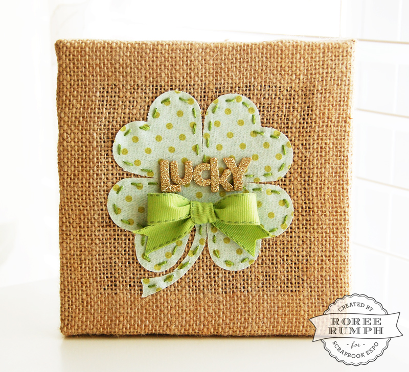 roree rumph_lucky_die cut fabric_burlap canvas_2