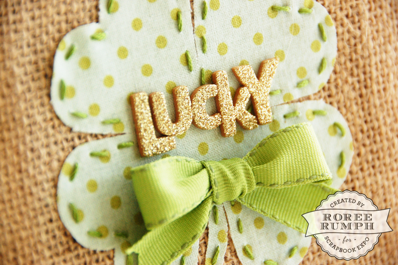 roree rumph_lucky_die cut fabric_burlap canvas_closeup2_2
