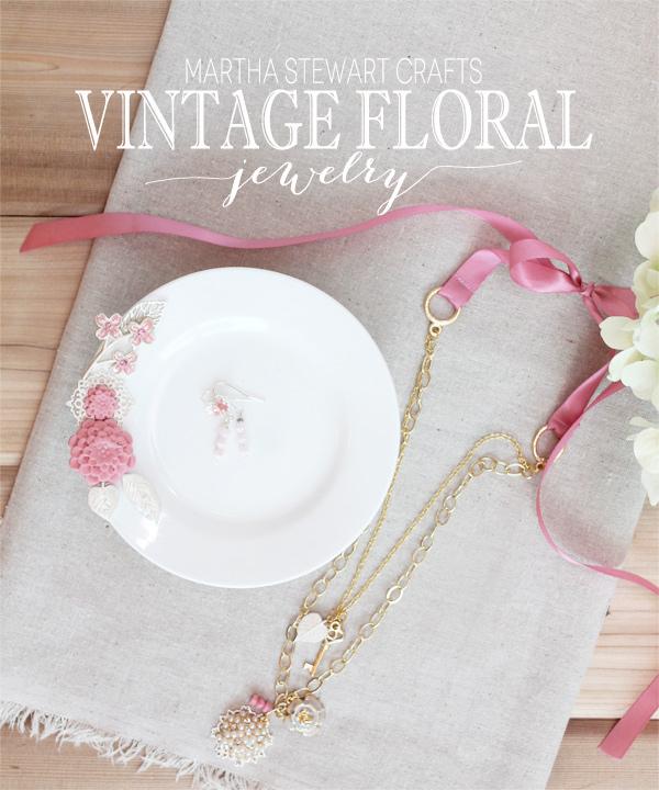 Vintage Floral Jewelry