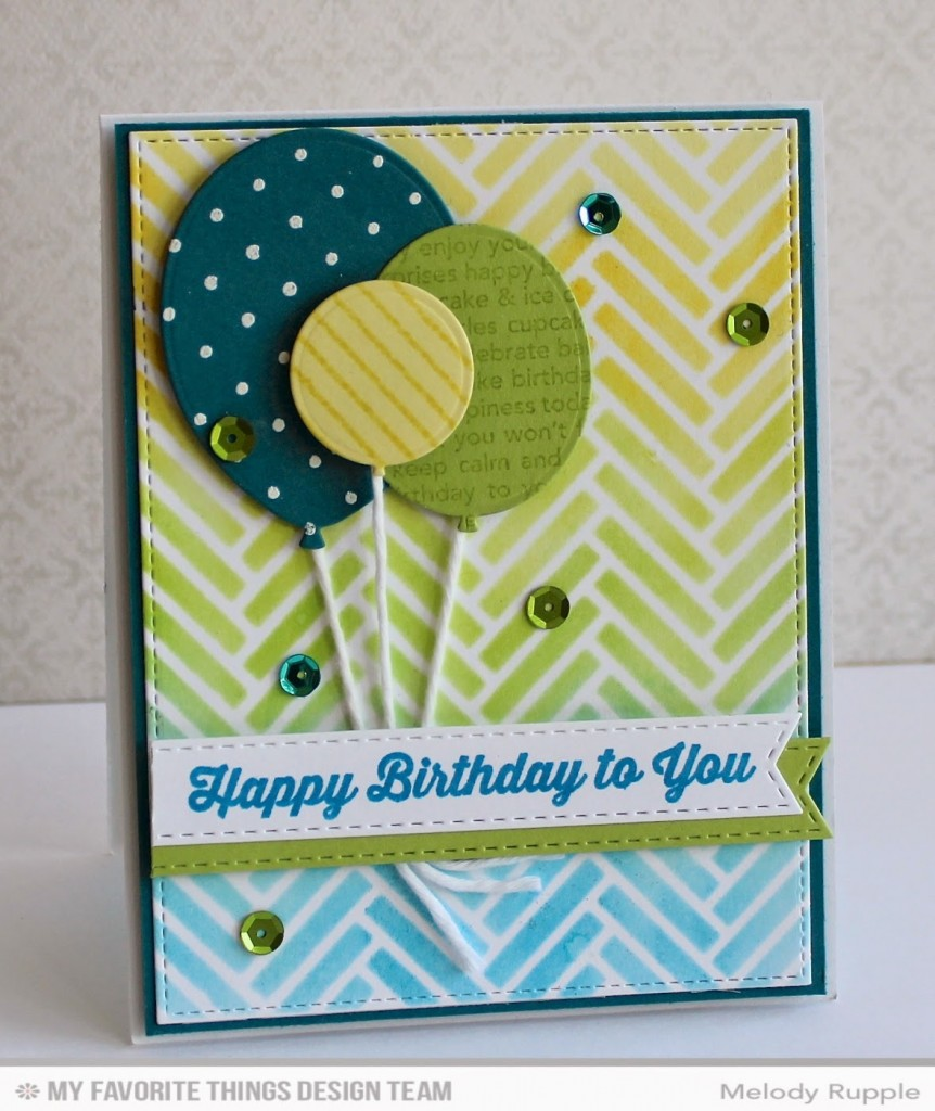 Happy Birthday Card By Melody Rupple