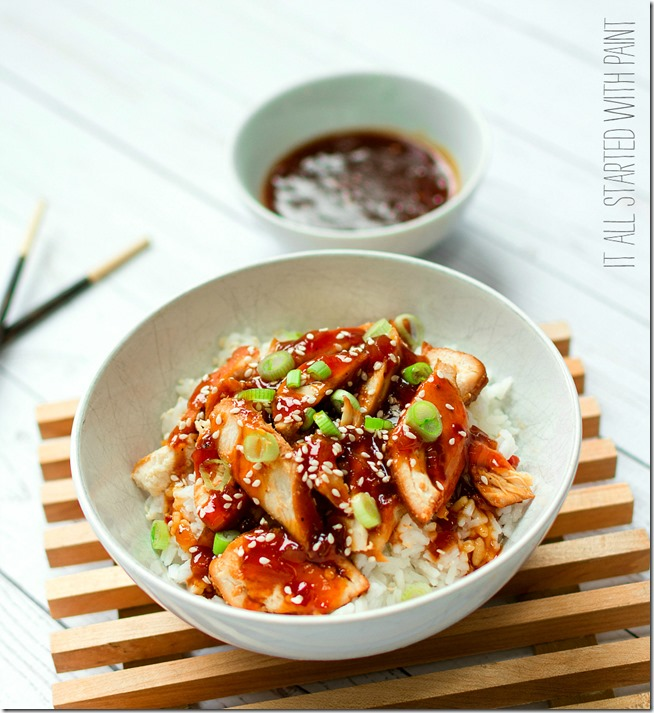 Weight Watchers Sesame Chicken & Rice