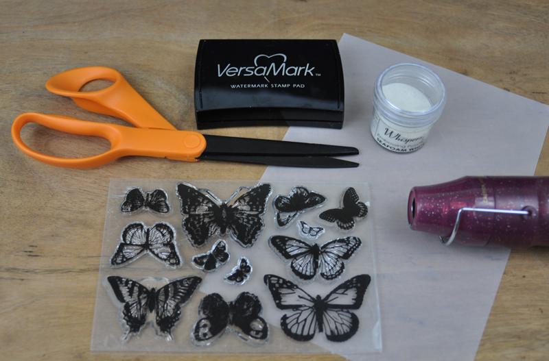 Vellum-Stamped-Butterfly-Cloche-Supplies
