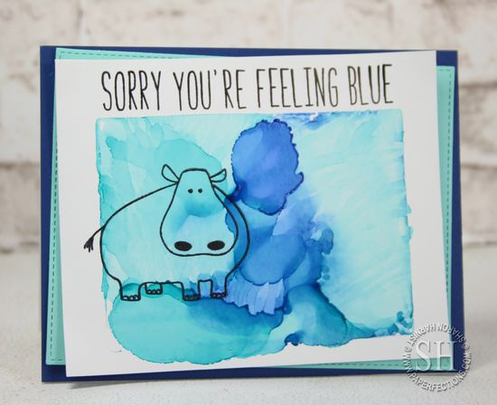 Sorry You're Feeling Blue by Sharon Harnist