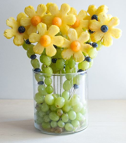Fruit Bouquet  by the Produce Mom