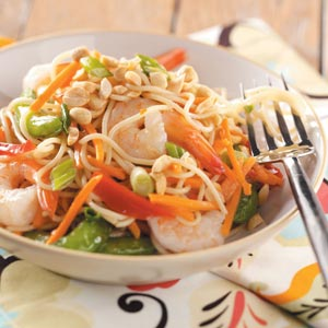 Szechuan Shrimp Salad Recipe