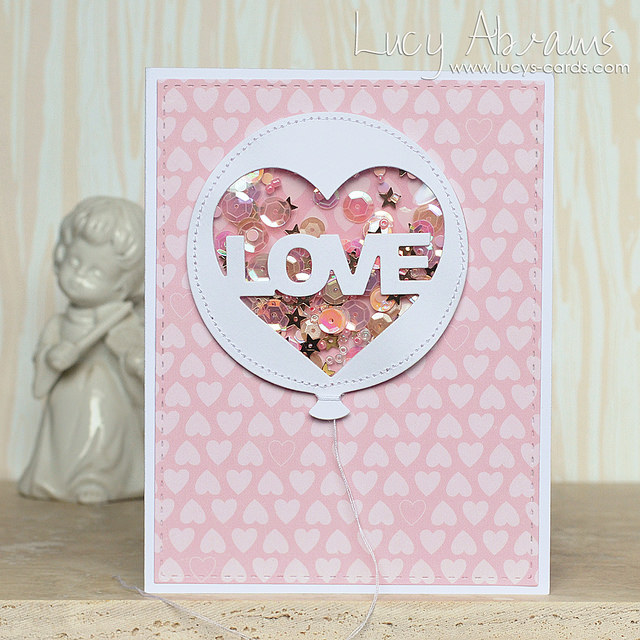 Love Shaker Card by Lucy Abrams