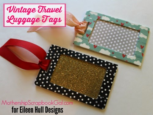 Vintage Inspired Luggage Tags