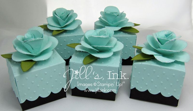 Celebrate It Occasions Favor Boxes With Lids Instructions : Saturdays with leann stamp scrapbook expo