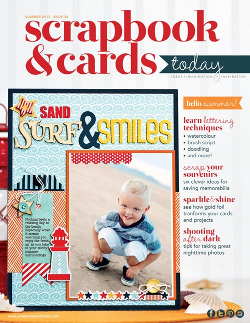 Scrapbook & Cards Today Summer 2015