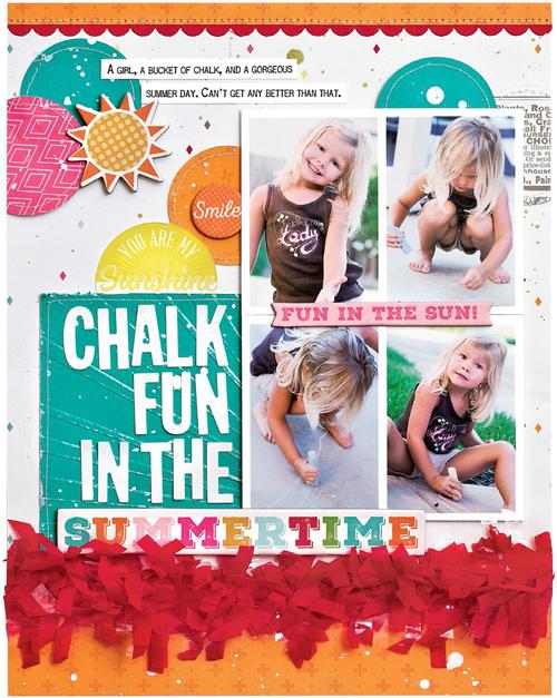 Chalk Fun by Laura Vegas