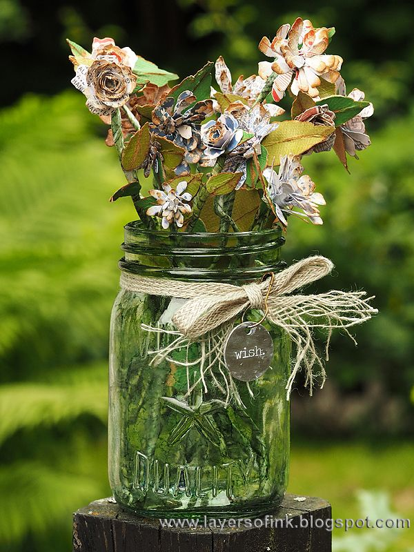Flowers In A Mason Jar