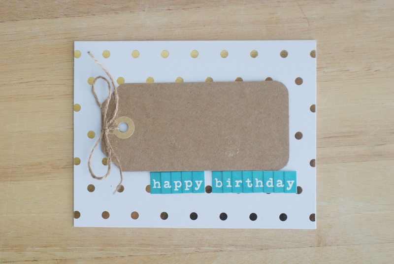 How to Embellish Greeting cards by @jbckadams for Scrapbook Expo
