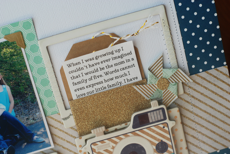 Scrapbooking process video created by @jbckadams for Scrapbook Expo