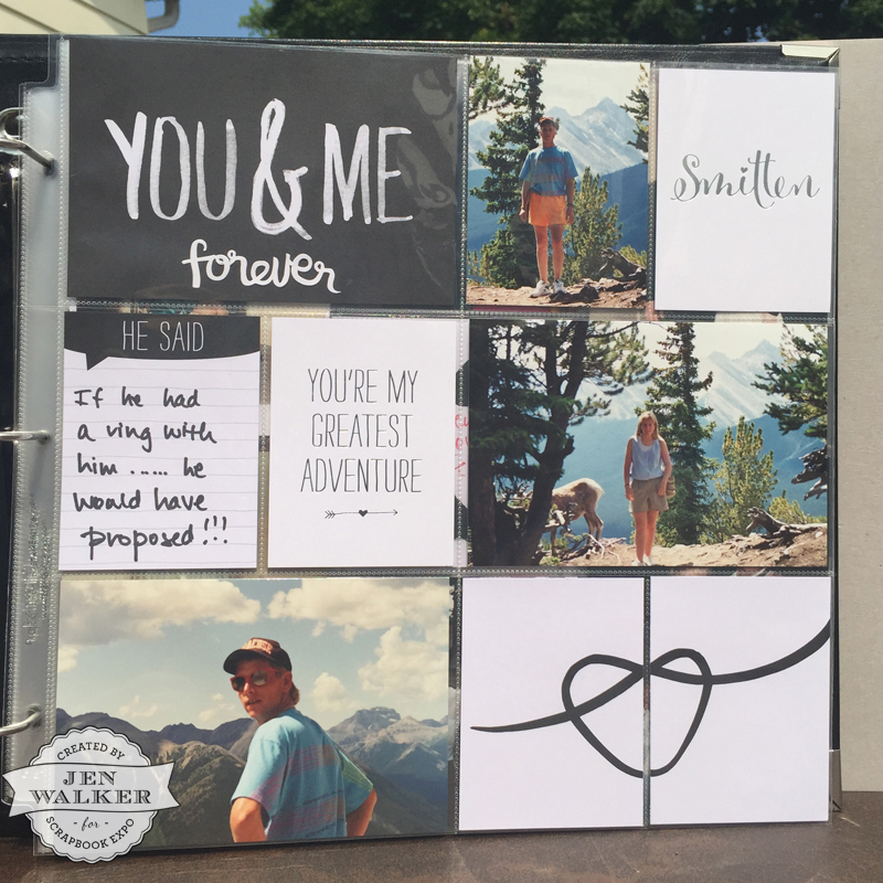 Stampin Up You and Me
