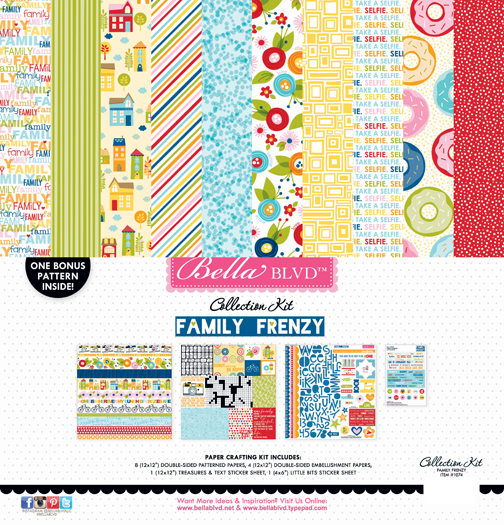 FAMILY FRENZY COLLECTION KIT