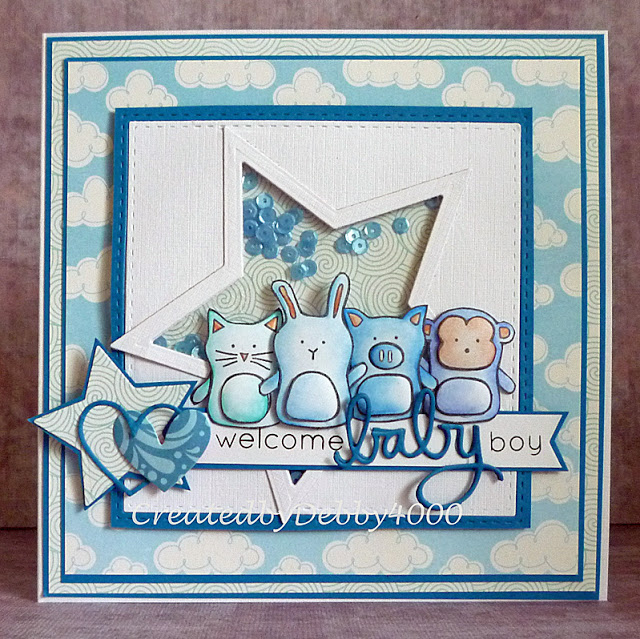 Welcome Baby Boy designed by Debby Yates
