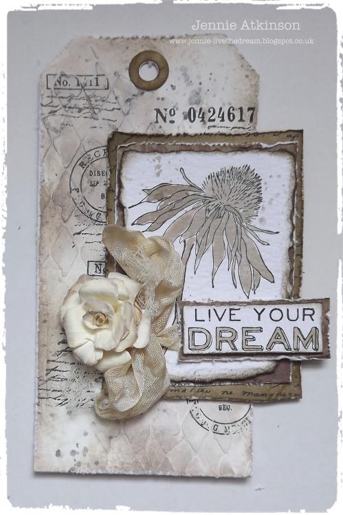 Live Your Dream by Jennie Atkinson