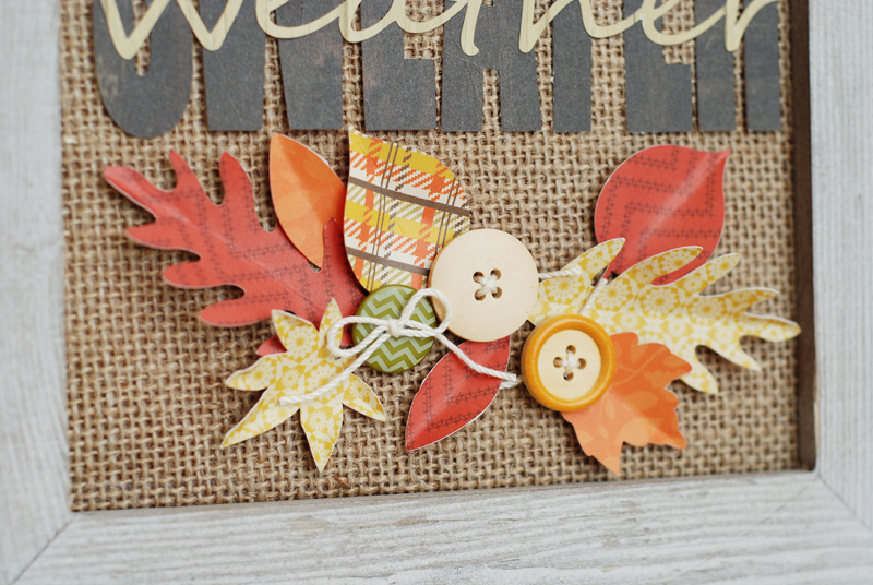 Fall Home Decor by @jbckadams Becki Adams for Scrapbook Expo