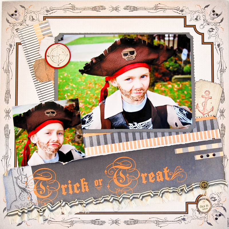 Favourite project 1 Scrapbook page