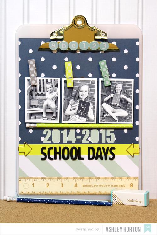 Back to School Clipboard Tutorial by Ashley Horton
