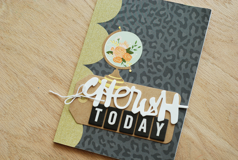 How to create a Gratitude Journal by @jbckadams (Becki Adams) for Scrapbook Expo