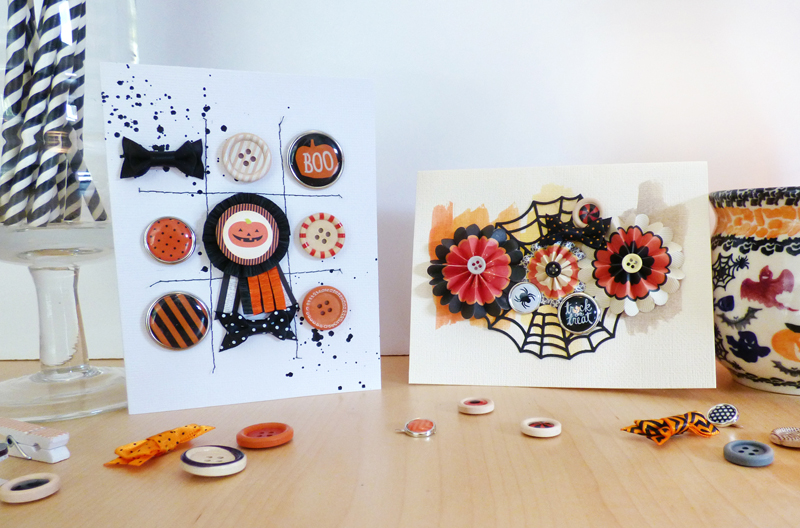 Halloween Cards by Paige Evans
