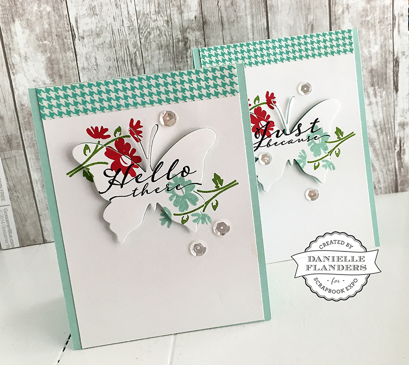 Butterfly Cards by Danielle Flanders
