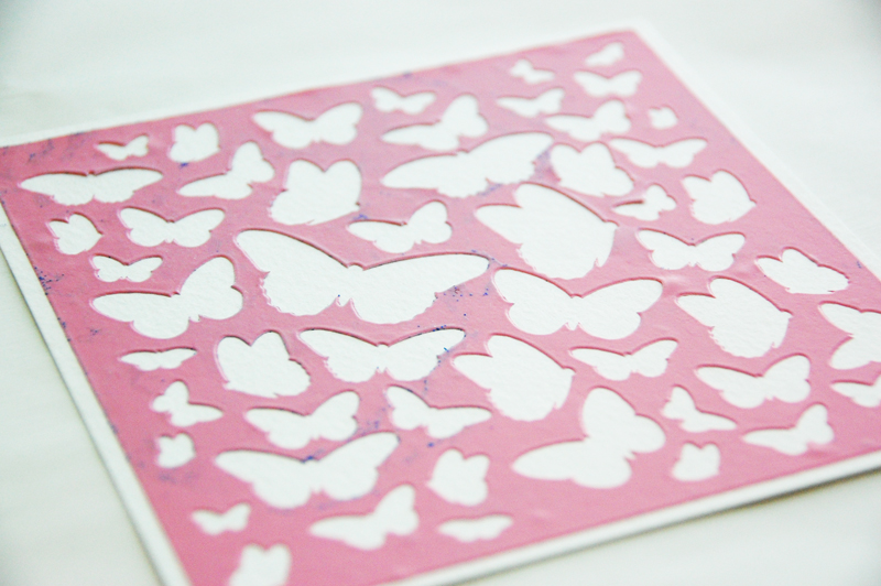 roree rumph_molding paste_stencil_BeYouTiFul_frame_step2