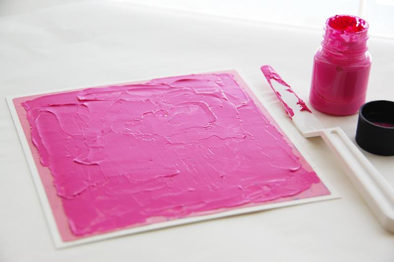 roree rumph_molding paste_stencil_BeYouTiFul_frame_step4