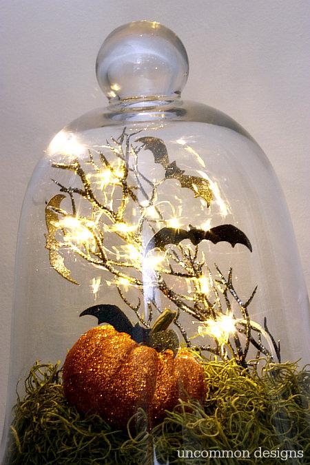 Halloween Cloche Decoration