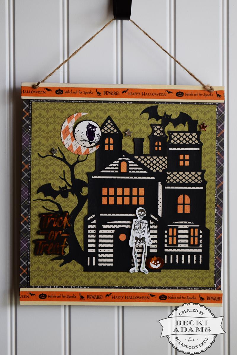 Halloween Home D Cor Stamp Scrapbook Expo