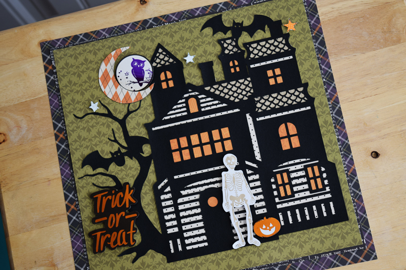 Halloween by @jbckadams (Becki Adams) for @scrapbookexpo